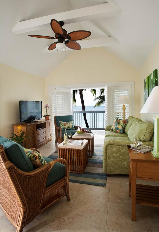 Ocean view sitting room