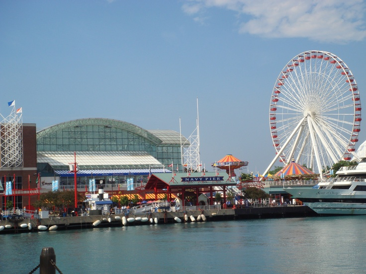 Navy Pier. Chicago, IL. Another of my favorite spots in the City.