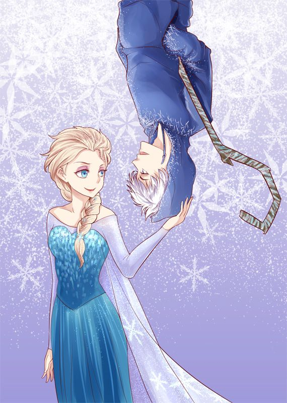 Rise of the Guardians' Jack Frost and Frozen's Elsa / 「Elsa x Jack」/「ASLE」のイラスト [pixiv]