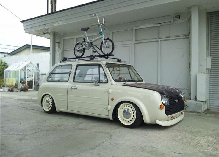 Nissan Pao? Itching for a Woodie conversion! Woodies