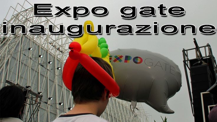 Milano Expo inaugurazione expo gate al castello sforzesco
