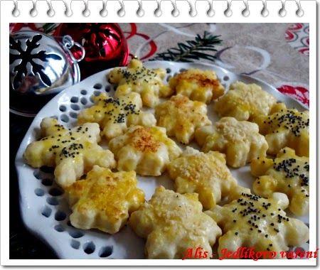 Jedlíkovo vaření: Slané vánoční cukroví