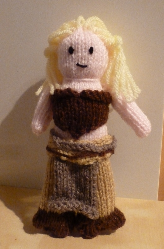 Pattern: The Mother of Dragons - Nerd Knitting