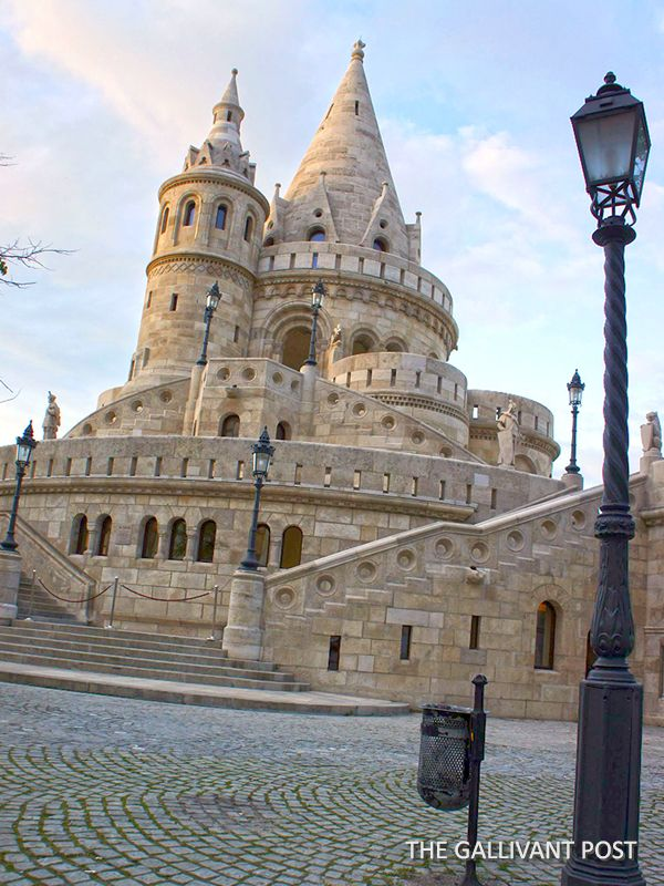 Fisherman's Bastion at Castle Hill | Budapest travel