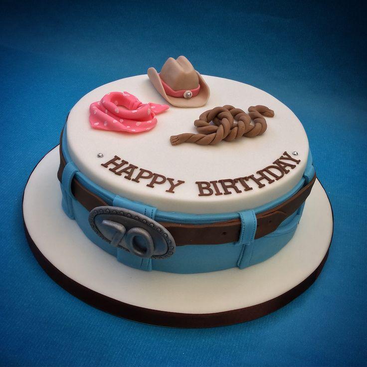 Line Dancing Cake