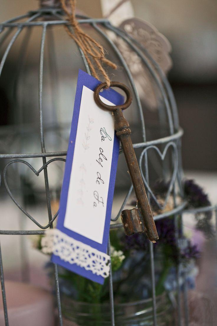 Centre de table cage oiseaux f elicit les mariages - Pinterest centre de table ...