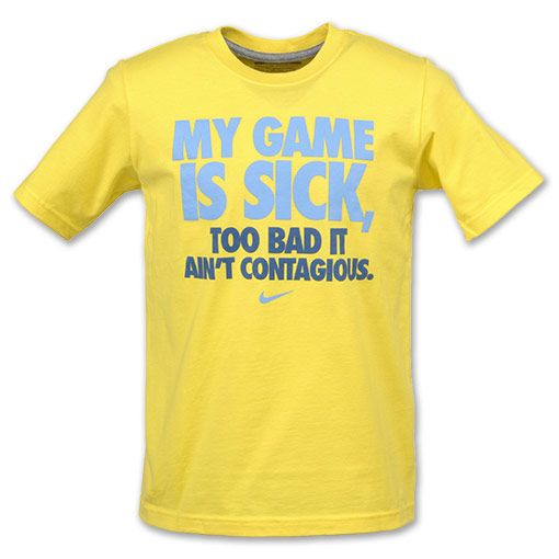 nike quotes for women nike quotmy game is sickquot kids tee