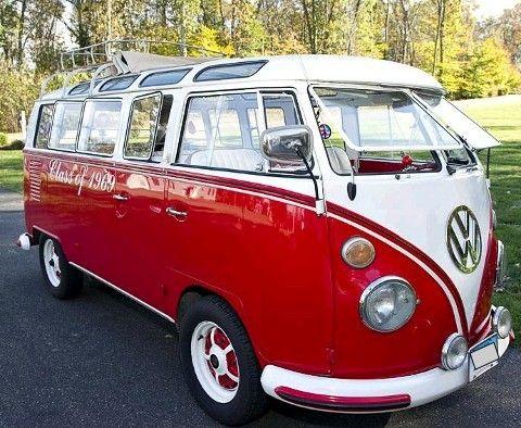 1966 #VW Volkswagen 21 Window Bus