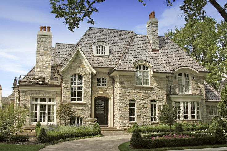French Country Cottage Curb Appeal