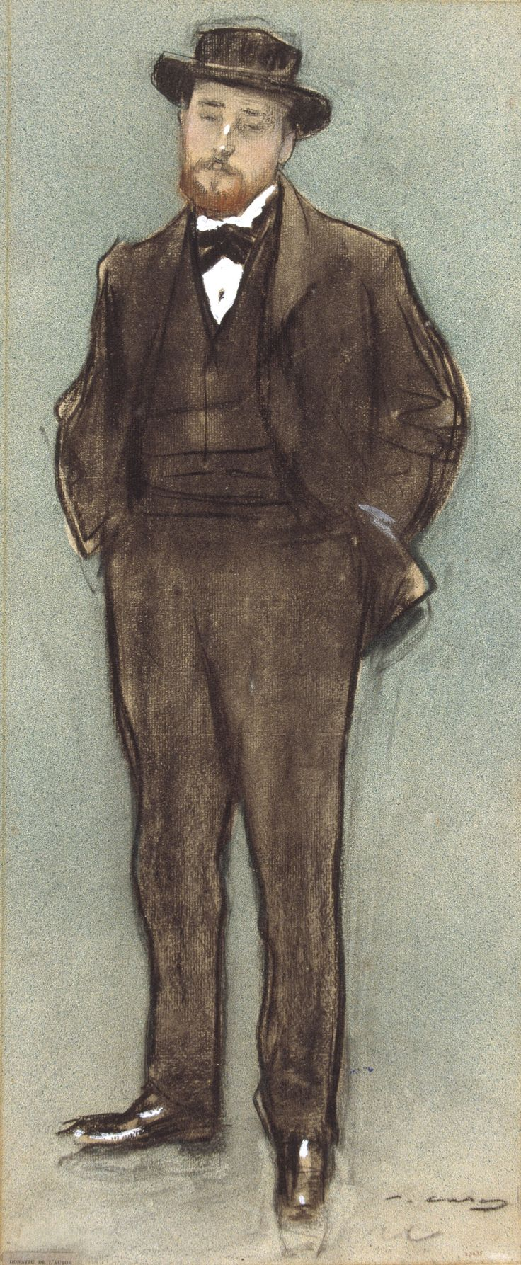 The Athenaeum - Portrait of Josep Codina (Ramon Casas y Carbó - )