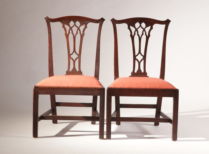 Chippendale chairs, Norwich, Connecticut