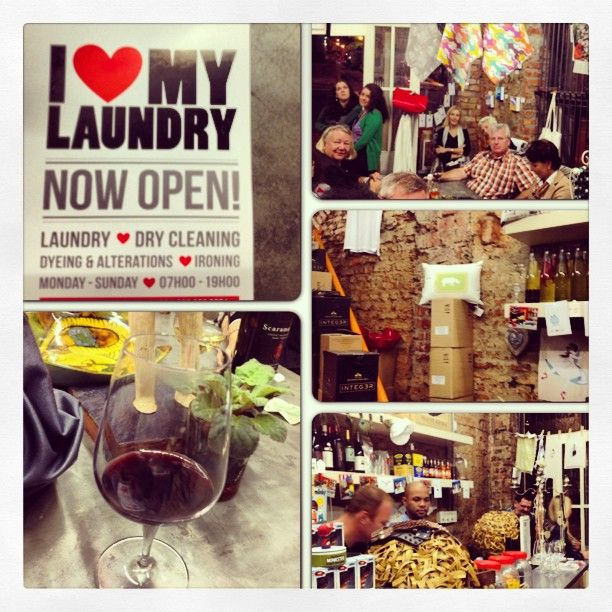 Photo by 1karlien - 'I LOVE LAUNDRY' exhibition evenings. #art #design #capetown #talent #trends