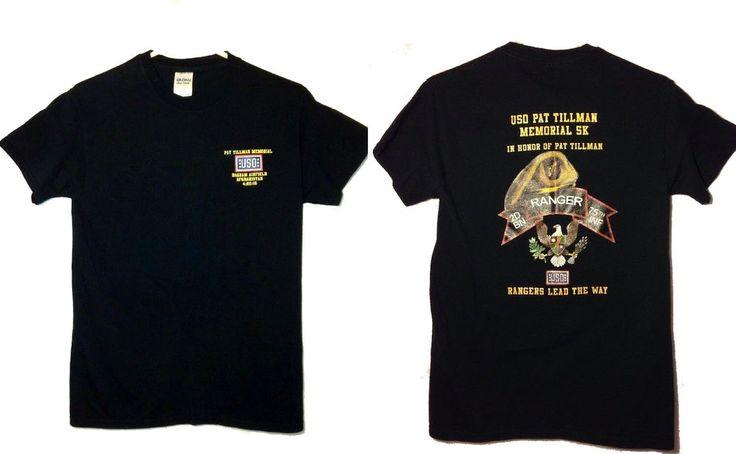 T-Shirt Pat Tillman Memorial 5k Run Bagram Airfield Afghanistan 2015  #Gildan #GraphicTee