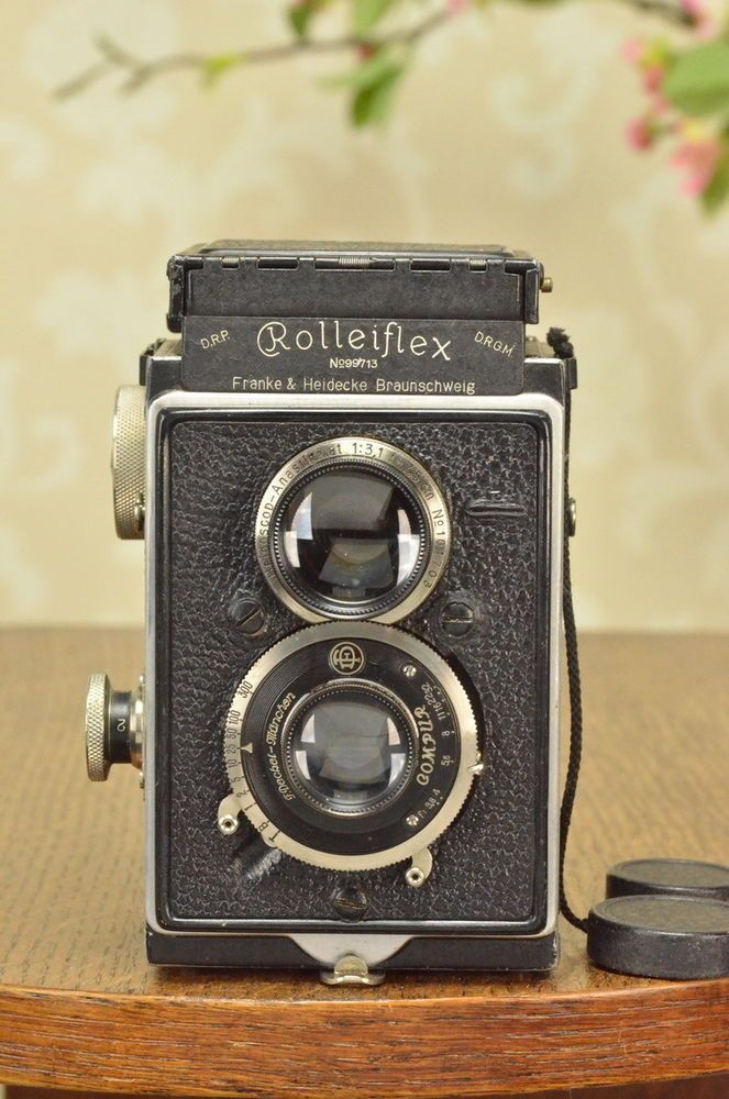 1931 Rolleiflex, The Original first version Rolleiflex! CLA'd #Rollei