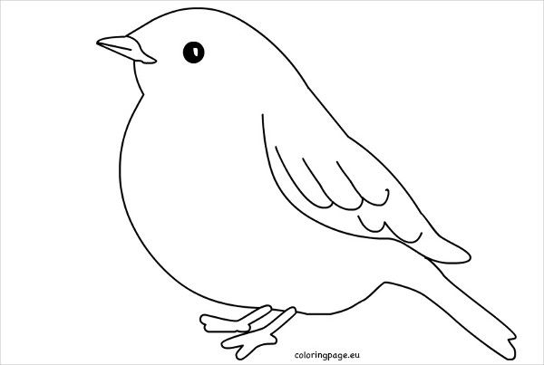 9 printable bird templates  free sample example format