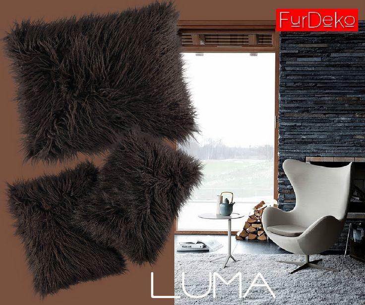 Lubimy brązy...   www.FurDeko.pl