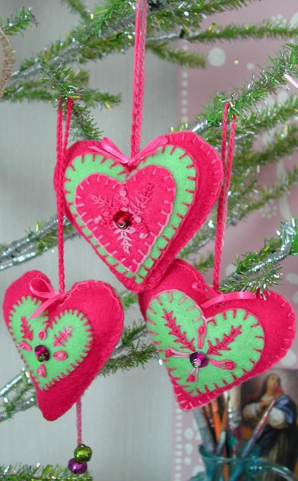 Christmas Decorations In Vermont : Best images about felt crafts christmas on