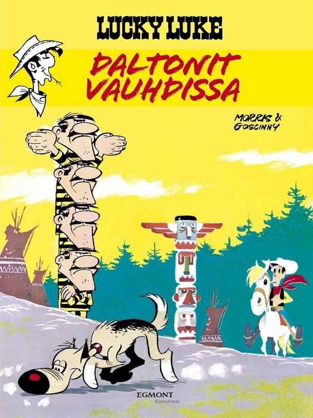 Lucky Luke - Daltonit vauhdissa. #egmont #sarjakuvat #sarjis