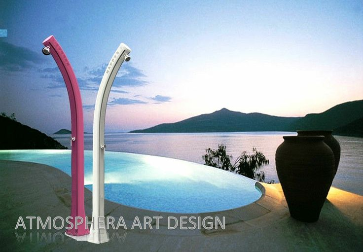 Doccia solare NEW HAPPY FIVE 28 LT - F500 giardino,piscina,spiaggia