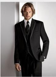 Customized Groom Tuxedos Wedding Business Groomsman Suit Jacket+Pants+Tie+Vest