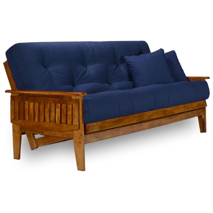 The Eastridge Futon Cleverly Transform From An Ordinary Frame To A Sleep Bed With Functional