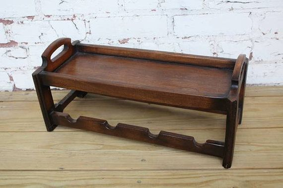 Scandinavian Wine Rack // Vintage // by VintageBarmansSupply, $30.00