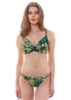 Rumble Tropic Plunge Bikini Top