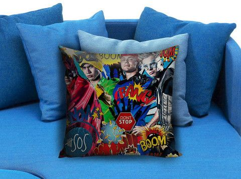 5 Sos Dont stop 5 Seconds of Summer Beautiful Pillow case #pillow #case #pillowcase #custompillow #custom