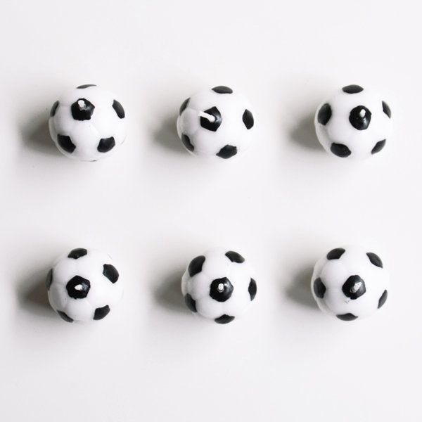 6 bougies - Ballons de foot