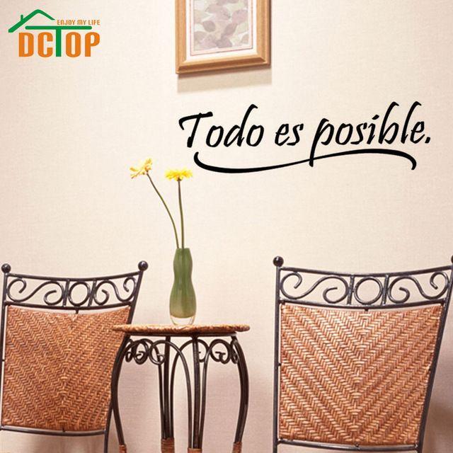 Todo es posible espa ol citas inspiradoras de etiqueta de for Todo decoracion hogar
