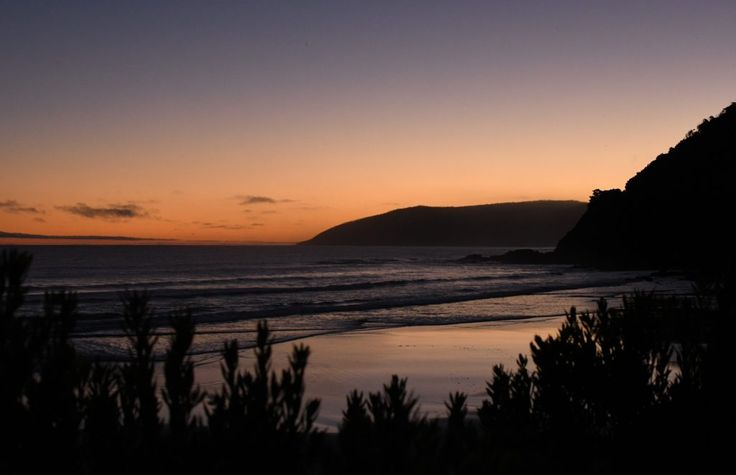 Sunset on the Great Ocean Road in Victoria, Australia | Inspiring travel photos of Australia | See Something New