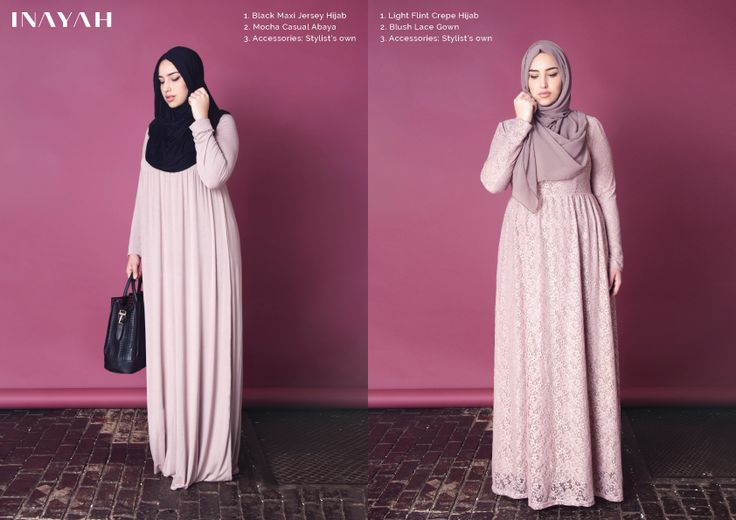 plus size hijab fashion style evening wear dresses