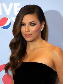 Eva Longoria - born in Corpus Christi, TX in 1975, film and TV actress