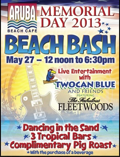 memorial day beach bash