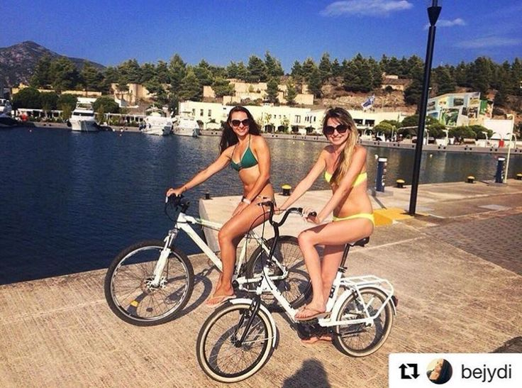 @portocarras awarded as the 1st Bike Friendly Hotel in #greece. You can discover #amazing and #graphic #paths with a #bike #riding !  #portocarras #bikefriendly #resort #backtosummer #marina #ig_greece #sithonia #halkidiki #sunnyday #travelling #traveller #travelgram