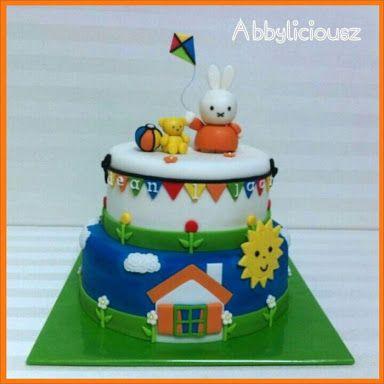 nijntje taart zelf maken - Google zoeken