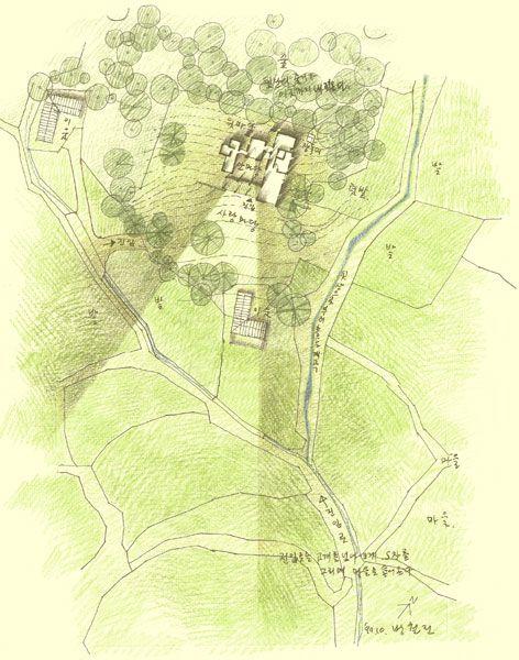 미제루를 위한 드로우잉/방철린 Drawing for Mijeroo by Bang, Chulrin /Architect Group CAAN