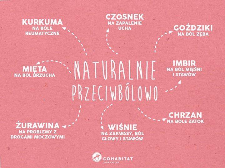 naturalne środki przeciwbolowe