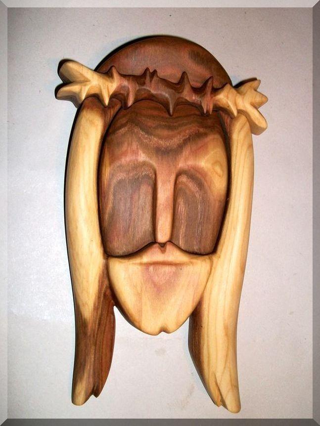 Dřevěné sošky Ježíš Kristus