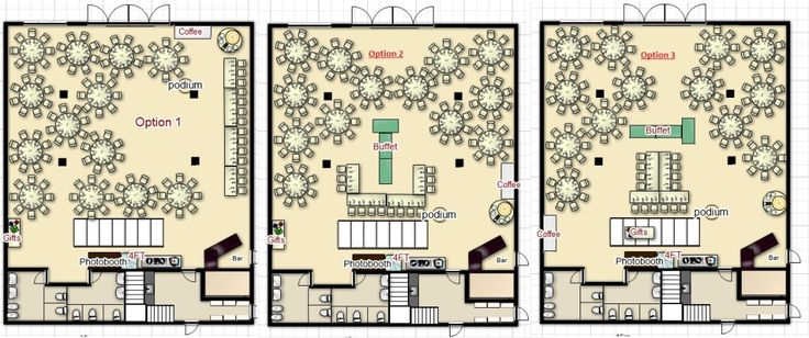 Clubhouse Floor Plans | Holland Marsh Wineries