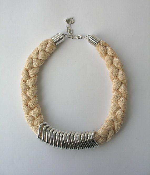 Istruzione blu collana corda collana collana di DreamList, $19.90/€14,75
