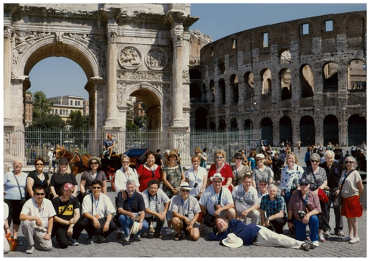 Club Tour European Summer 2011 - Colosseum Rome