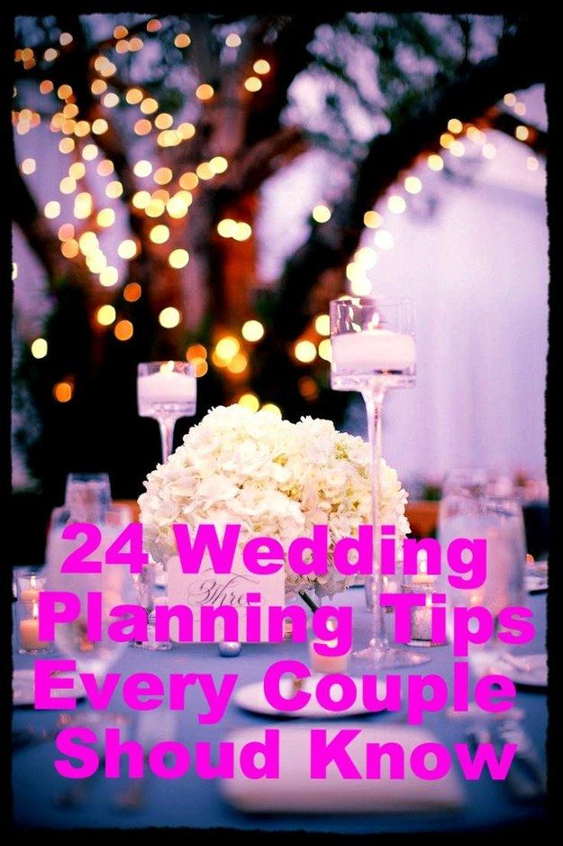 24 Insanely Clever Wedding Planning Tips Every Engaged Couple Should Know