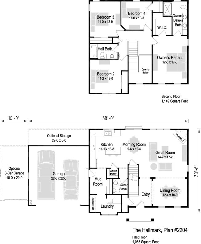 25 Best 2 Story Floor Plans Images On Pinterest Floor