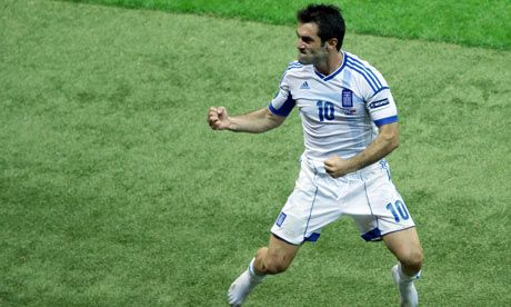 Giorgios Karagounis - one of my favorite players. Plays with heart