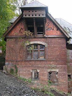 Forgotten. Abandoned house