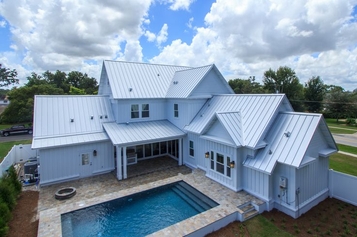 Metal Roofing Orlando Florida   Award Winning Standing Seam Roof For The  New Southern Home. | Residential U0026 Commercial Roofing | Pinterest | Metal  Roof, ...