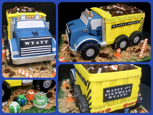 Dump Truck Cake by Sugar Buzz Cakes by Carol, via Flickr