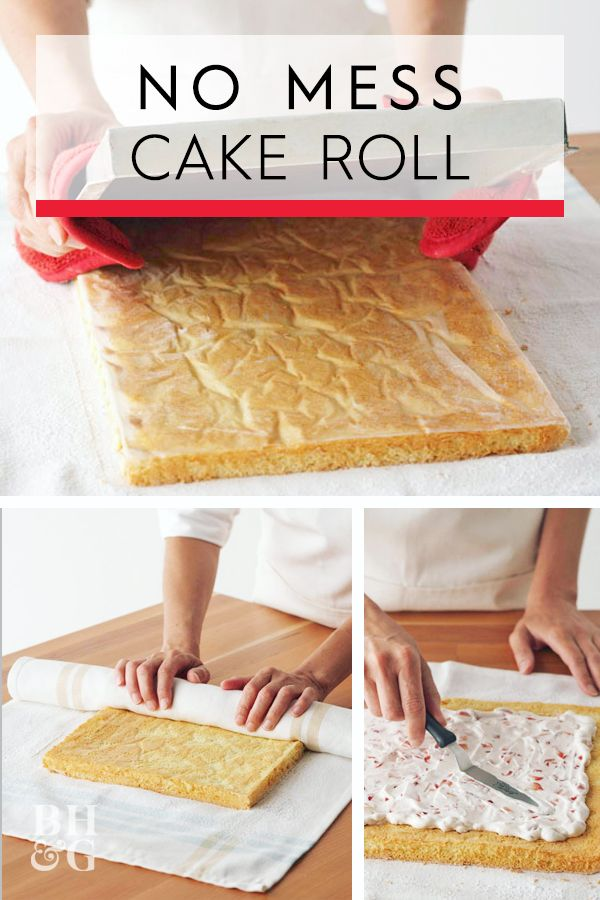 5 Steps To Make The Most Impressive Cake Roll Ever Cake Roll Recipes Chocolate Cake Roll Recipes Cake Roll