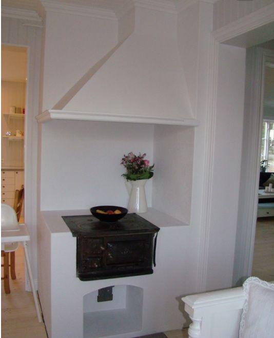 Built in vedspis / wood cooker